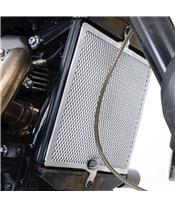 R&G RACING Radiator Guard Black Triumph Scrambler 1200