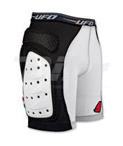 Pantalones cortos UFO con protecciones blanco talla M PI06281KM