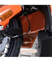 R&G RACING Radiator Guard Orange KTM 790 Adventure