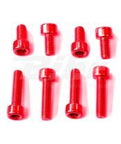 Kit tornilleria tapón depósito Pro-Bolt Suzuki Aluminio rojo TSUZR