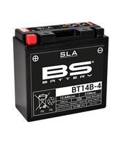 Batterie BS BATTERY BT14B-4 SLA sans entretien activée usine