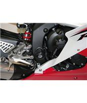 Tampons de protection inférieurs R&G RACING Aero noir Yamaha YZF-R6