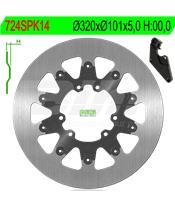 Disco de travão NG 724SPK14 Ø320 x Ø101 x 5