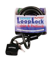 OXFORD Looplock Cable Lock 2m x 15mm Smoked