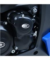 Carterdeksel rechts zwart R&G RACING Suzuki GSX1000S,ABS,FA