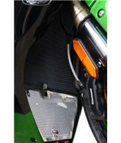 R&G RACING Kühlerschutz schwarz Kawasaki H2 SX