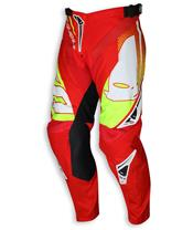 UFO Sequence Pants Red/Yellow Size 44