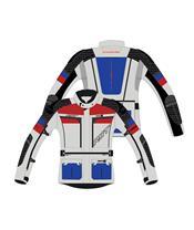 Chaqueta Textil (Hombre) RST ADVENTURE-X Azul/Rojo , Talla 50/S