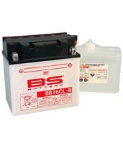 Batterie BS BATTERY BB16CL-B haute performance livrée avec pack acide