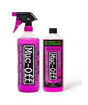 MUC-OFF Twin Pack Moto Cleaner 1L + Concentrated Refill