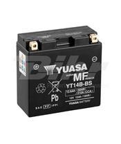 Yuasa battery YT14B-BS Combipack (com eletrólito)