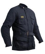 RST IOM TT Classic III CE 3/4 jas gewaxt katoen zwart