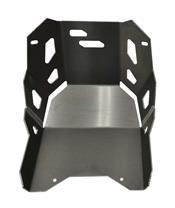 BIHR Trail Skid Plate Aluminium Ice Matte Kawasaki KLR650