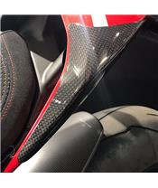 R&G RACING Rear Shell Sliders Carbon Ducati