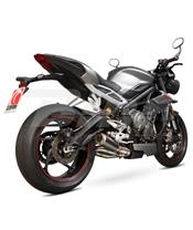 Scorpion exhaust RP1GP Carbono Triumph 765 TR1001CEM