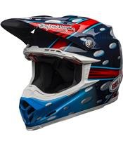 BELL Moto-9 Flex Helmet McGrath Replica Gloss Blue/Red/Black