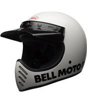 Casque BELL Moto-3 Classic White