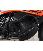 Protections latérales R&G RACING orange KTM 790 Adventure