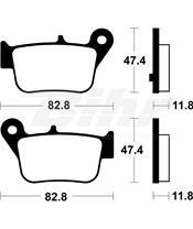 Pastilhas de travão Tecnium MSS427 comp. sinterizado SYM Maxsym 600I ABS