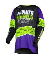 ANSWER Trinity Pro Glow Shirt Purple/Hyper Acid/Black
