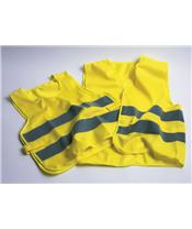 OXFORD Safety Vest Bright Yellow XL/XXL