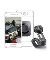 Pack complet SP-CONNECT Moto Bundle fixé sur guidon universel