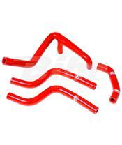 Kit tubos radiador Samco Husqvarna vermelho HUS-3-RD