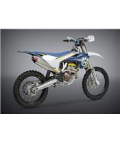 Silencioso escape Yoshimura Signature RS-4, inox, Silencioso aluminio, KTM/Husqvarna 250/350