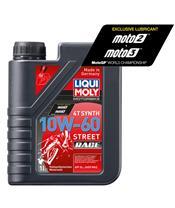 Garrafa de 1L óleo Liqui Moly 100% sintético 4T Synth 10w-60 Race