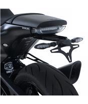R&G RACING License Plate Holder Black Husqvarna 701 Vitpilen