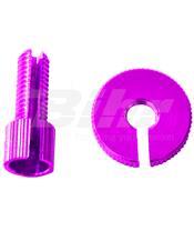 Tensor de Pro-Bolt M8 (1 peças) alumínio violeta LCA10P