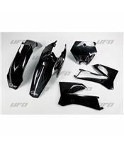 UFO Plastic Kit Black KTM SX85