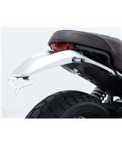 Support de plaque R&G RACING inox brossé Ducati Scrambler classic