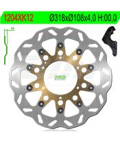 Disco de freno NG kit ondulado1204XK12 Ø270 x Ø105 x 3
