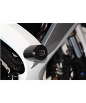 Tampons de protection R&G RACING Aero noir Suzuki GSX-R600/750