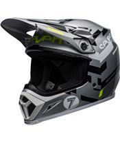 BELL MX-9 Mips Helmet Seven Equalizer Gray/Black/Hi Viz