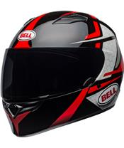 BELL Qualifier Helm Flare Gloss Black/Red Größe