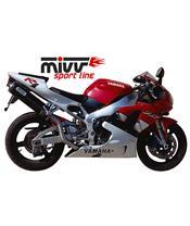 Silencieux MIVV Oval Classic carbone Yamaha YZF-R1