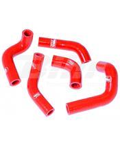 Kit tubos radiador Samco Husqvarna vermelho HUS-2-RD