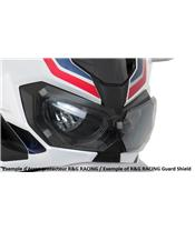 R&G RACING Headlight Shield Translucent Yamaha R3