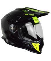 JUST1 J34 Adventure Helmet Shape Gloss Neon Yellow