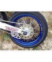 Schwingen- und Hinterradachsschutz R&G RACING für YZ,YZF,WR 250/450, XR650R