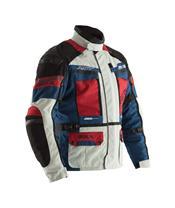 RST Adventure 3 Pro Series CE jas textiel ijs/blauw/rood