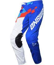 Pantalon ANSWER Arkon Korza Reflex/Hyper Blue/Red taille 28