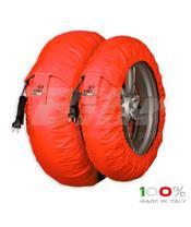 Aquecedores de pneus CAPIT Suprema Spina Cor vermelha (17'' - Frente 120/Trás 180)