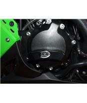 R&G RACING Engine Left Case Slider Black Kawasaki ZX-10R