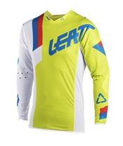 LEATT GPX 5.5 Ultraweld Jersey Lime/White