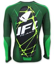 UFO Atrax Undershirt with Back Protector Green