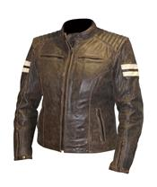RST Ladies Roadster Jacket Leather Brown Size X