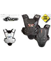 UFO VALKYRIE 2 KID CHEST PROTECTOR IN WHITE